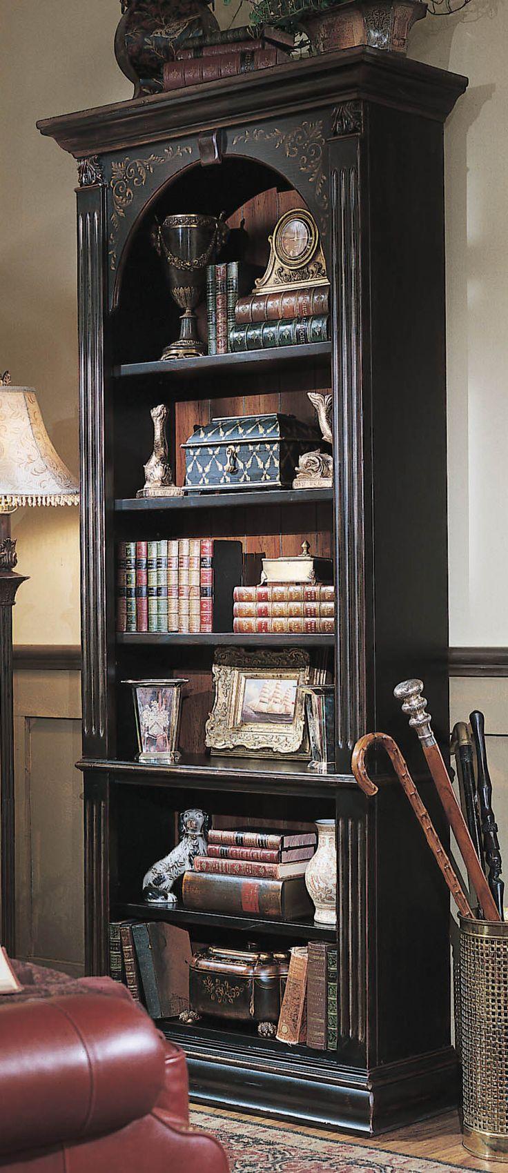 Small Dark Brown Bookcase