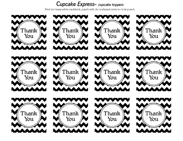 Labels Thank Small Printable You