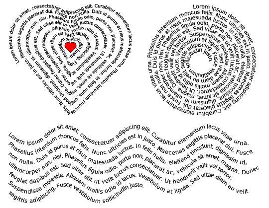 Names Shape 3 Heart