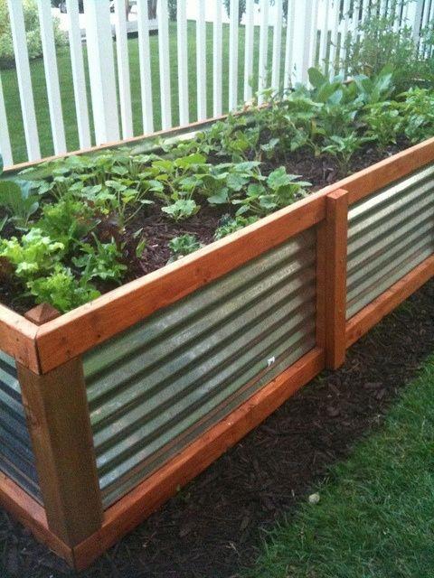 Above Ground Vegetable Garden Box Plans