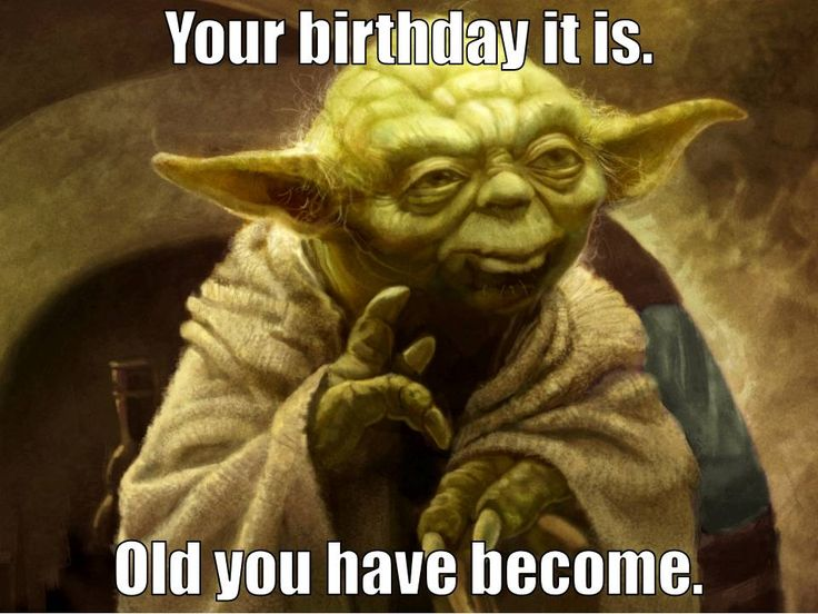Star Wars Funny Birthday Greetings