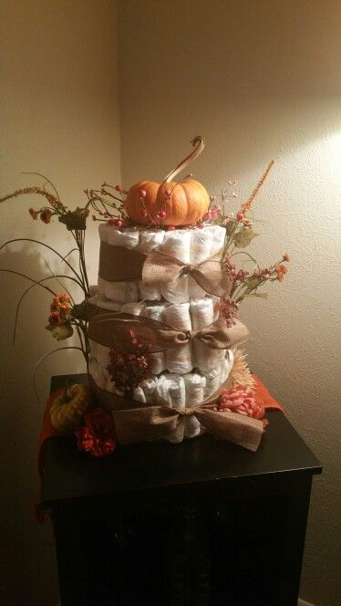 Fall Baby Shower Cakes