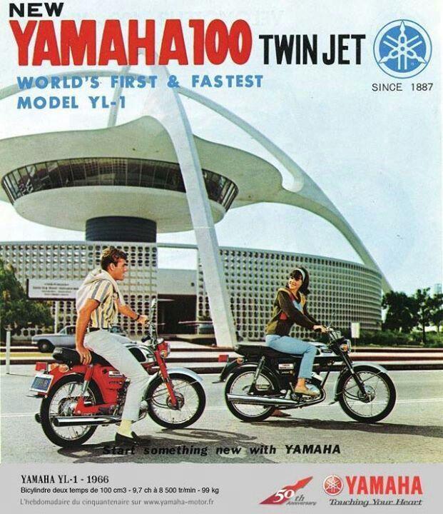 Yamaha 100 Twin Jet Yl1