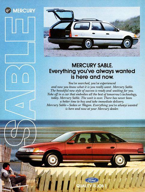 1986 Ford Taurus Wagon Rear
