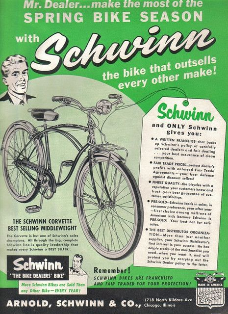 1960 Corvette Schwinn Bicycle