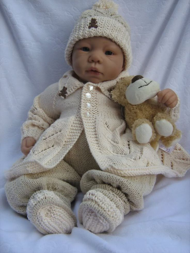 Small Doll Knitting Pattern
