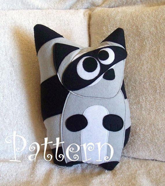 Animal Pillow Templates