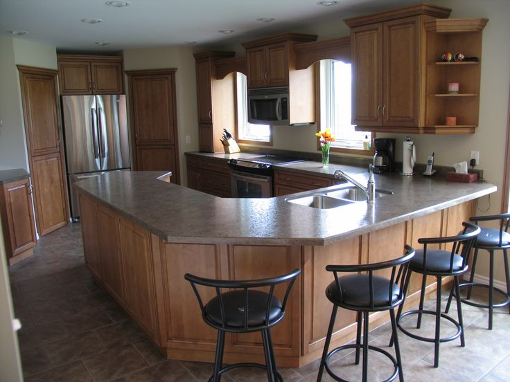 Hickory Cabinets Granite Colors
