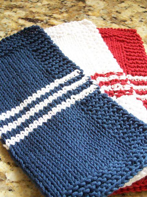 Sugar And Cream Yarn Dishcloth Patterns