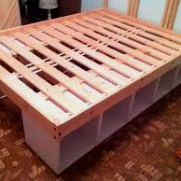 What How Awesome Diy Bed Frames With Storage Childrens