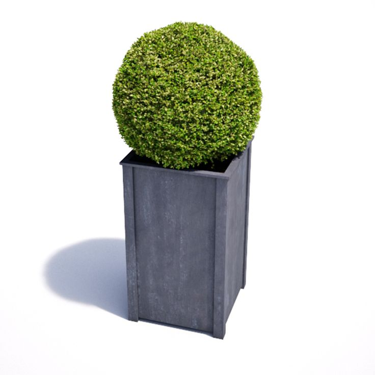 Tall Zinc Planters Uk