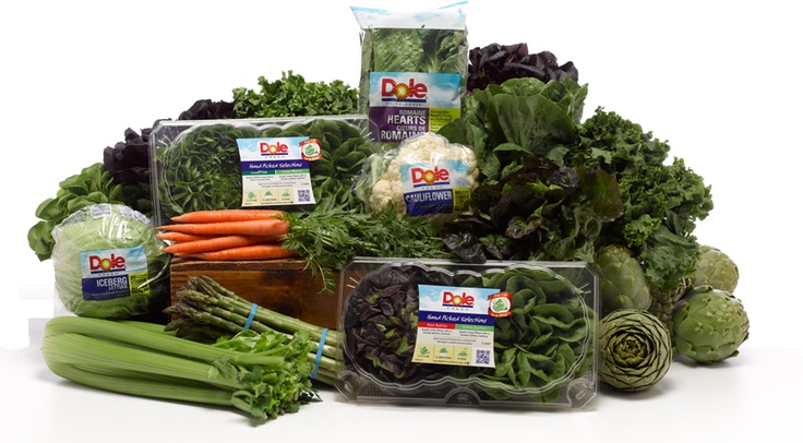 Dole Address Vegetables Fresh
