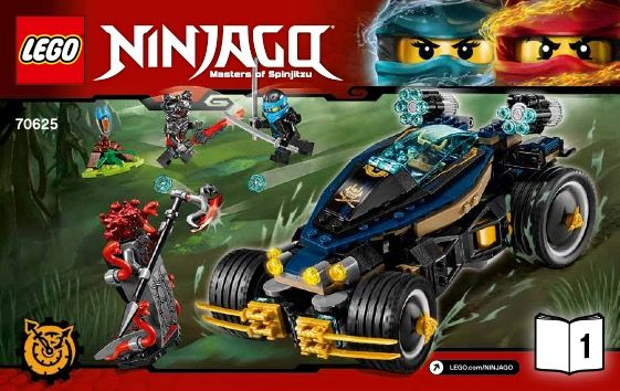Vxl Ninjago Samurai New X