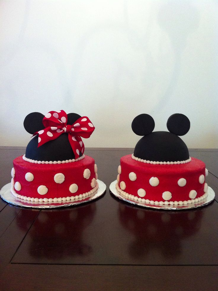 Minnie Mouse Smash Cake Diy