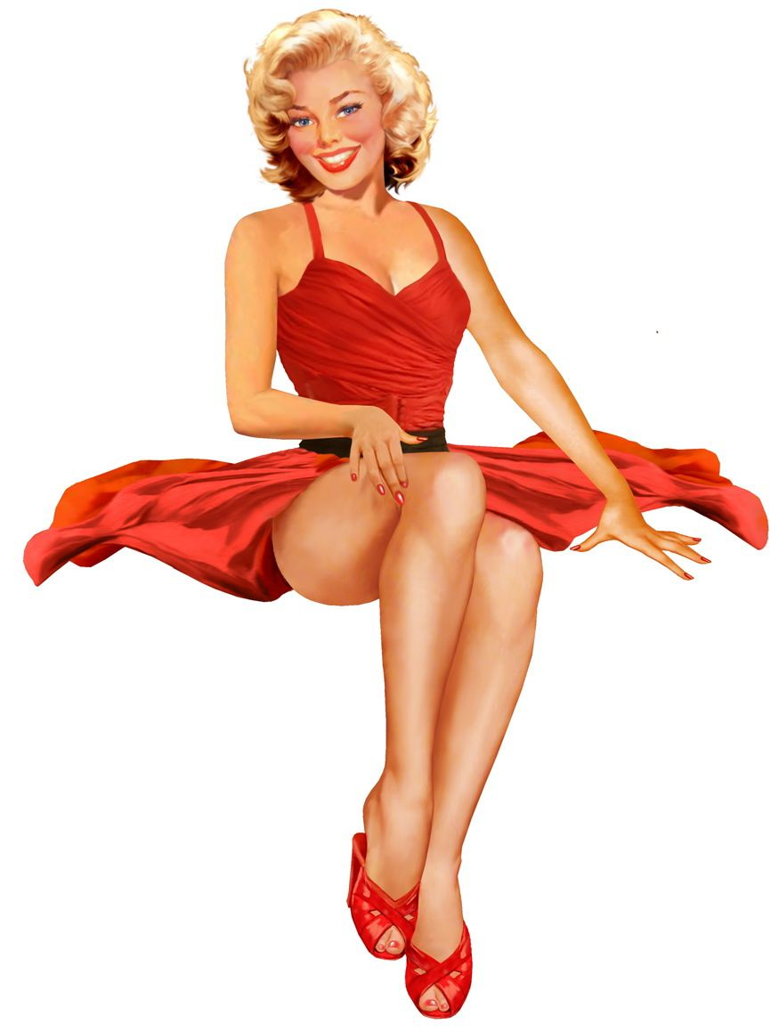 Syd Brak - Pin Up and Cartoon Girls Art | Vintage and ...