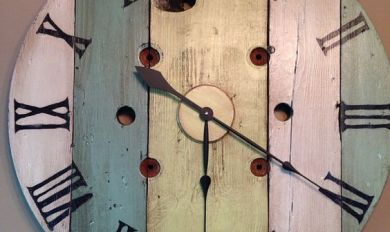 Decorative Wooden Clock Plans Wooden Thing