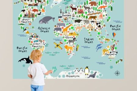 World map wall decal nursery full hd pictures 4k ultra full large world map wall decal for nursery or playroom this is your playroom wall decor world map decal world map decal map decal world map children wall decal gumiabroncs Choice Image