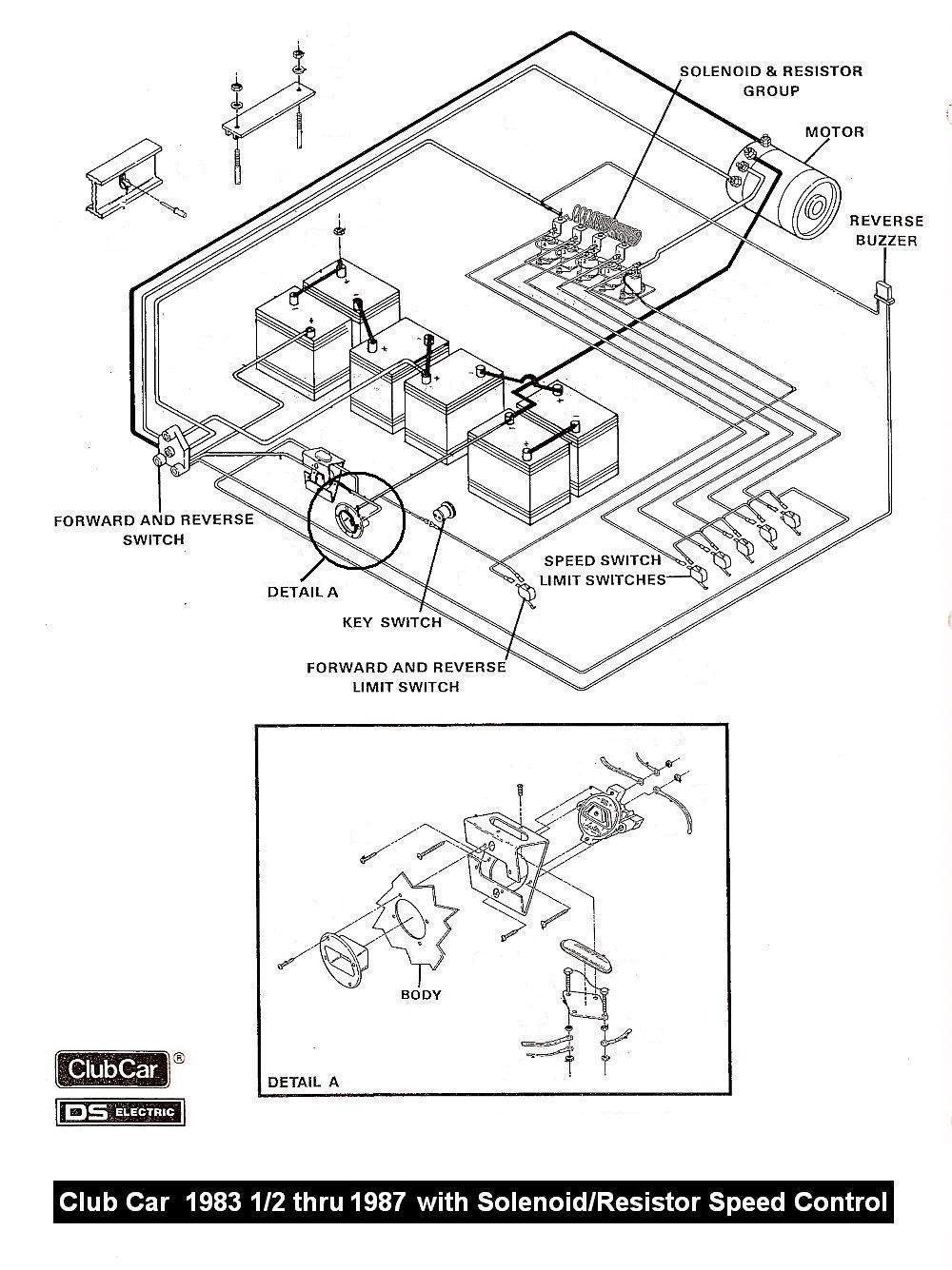 Wiring 36 volt 36 volts golf cart pinterest cars car