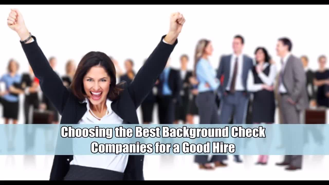 Too many background check companies out there  However  only the     Too many background check companies out there  However  only the best can  provide the