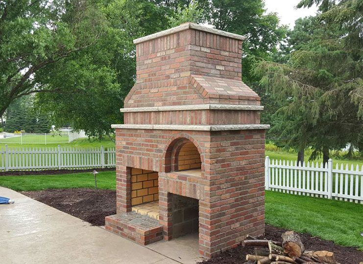 Outdoor Fireplace Amp Wood Fired Pizza Oven By Brickwood