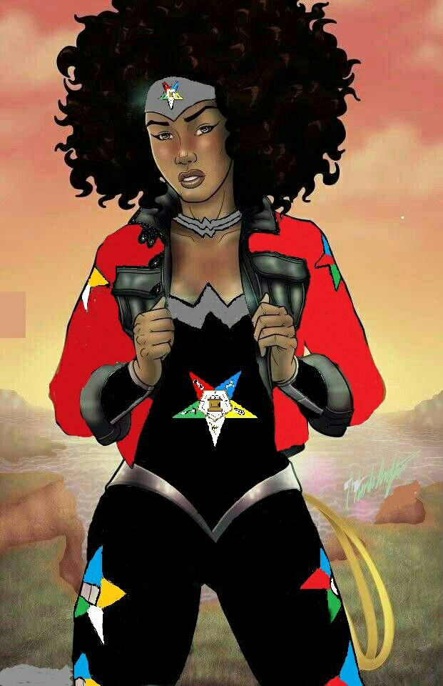 Oes Super hero | Order of the Eastern Stars | Pinterest ...