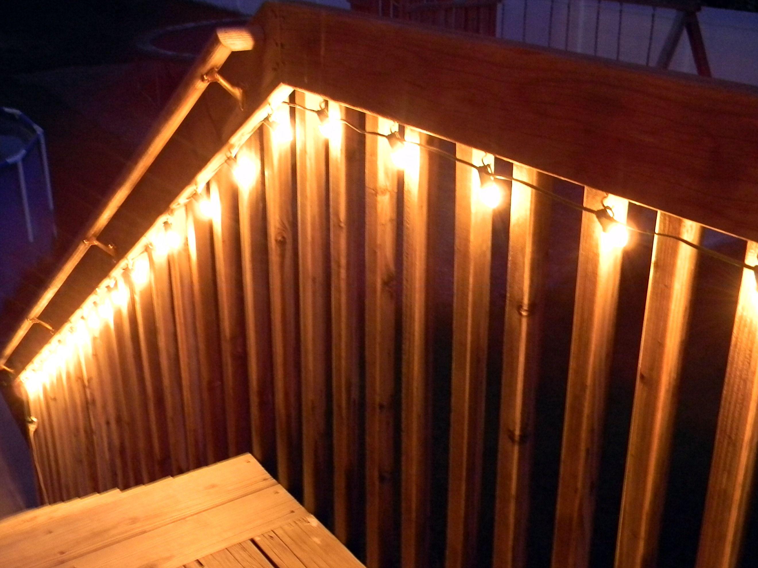 Easy Amp Cheap Deck Lighting Jos 233 E Belleau Alexius Patios