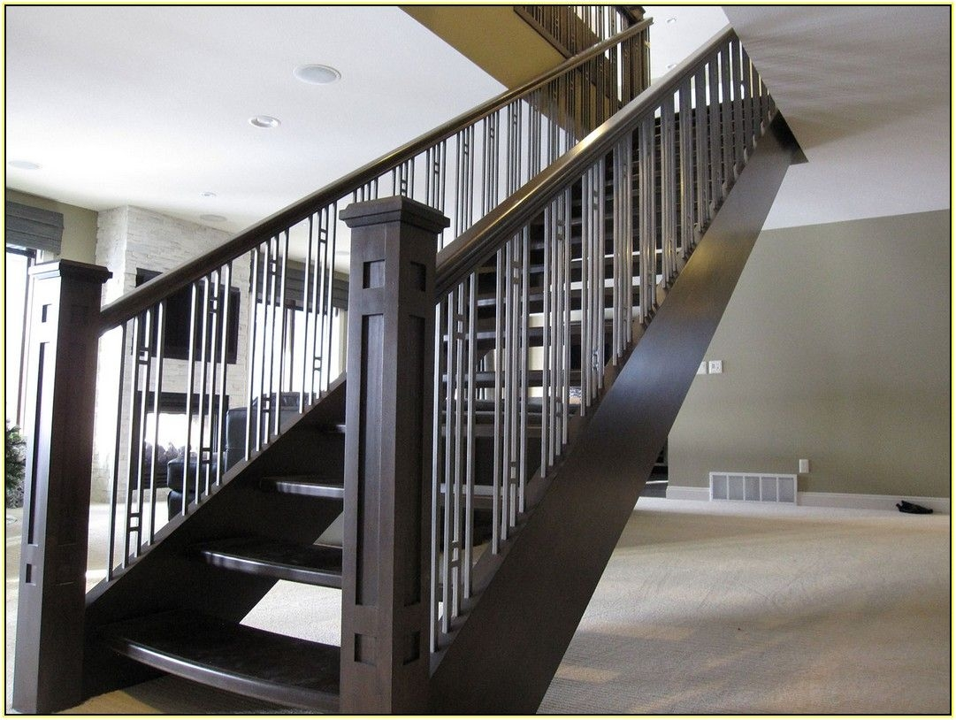 Stair Contemporary Stair Railing Contemporary Stair   Modern Banisters And Railings