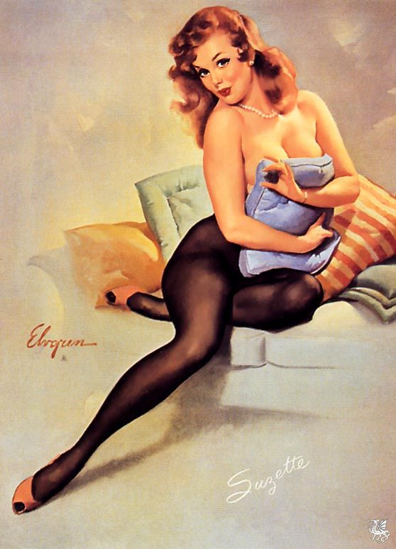 "Gil Elvgren - ""The Norman Rockwell of Cheesecake!"" Vintage ..."