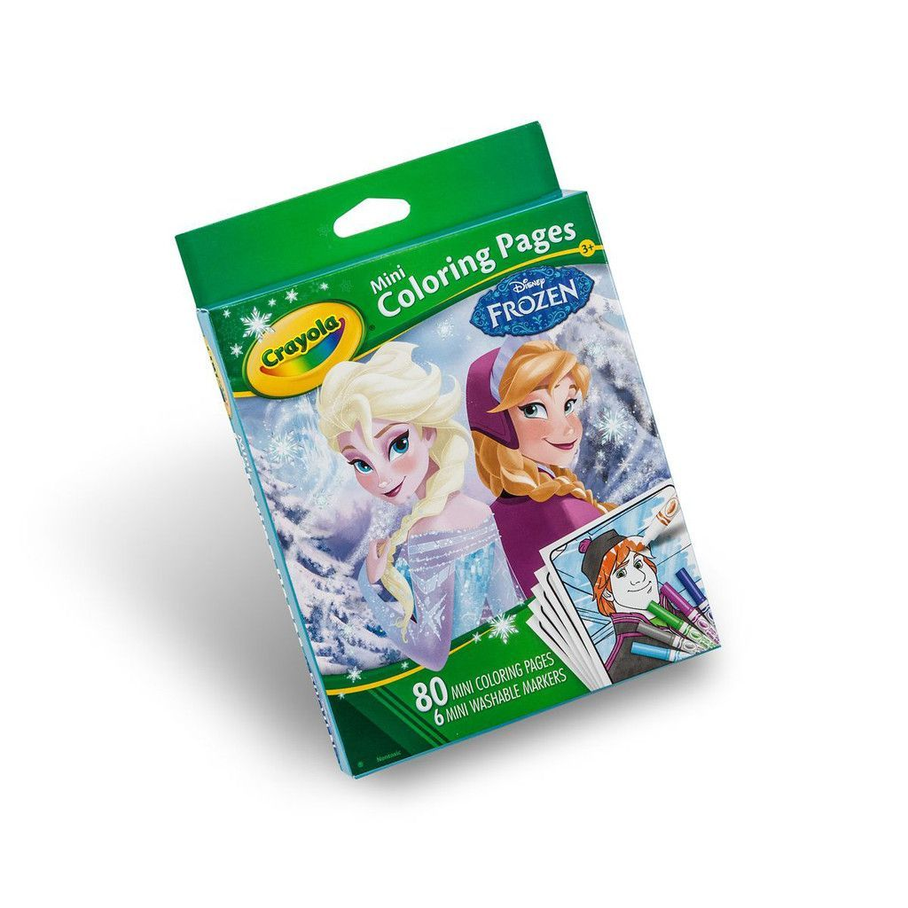 Crayola Frozen Mini Coloring Pages 04 5062 Products