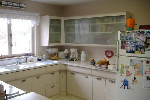 Morton Metal Kitchen Cabinets With Porcelain Farmer S