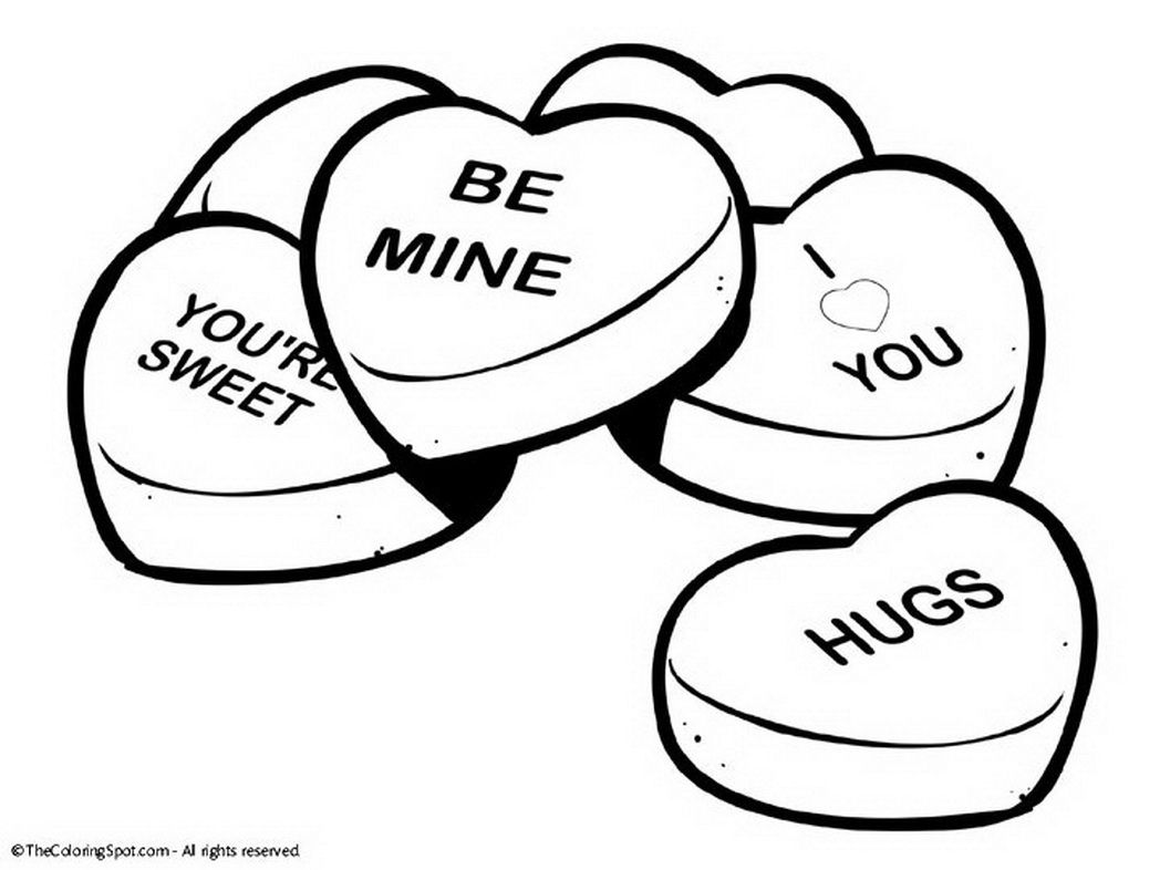 Valentine Coloring Pages Printable Valentines Day « Coloring Pages