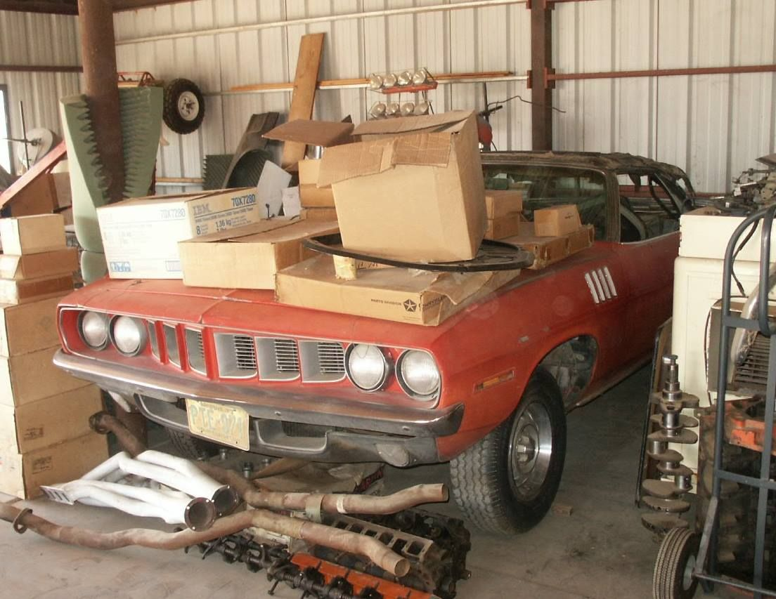 Yes Folks A Real 426 Hemi 1971 Cuda Convertible Muscle