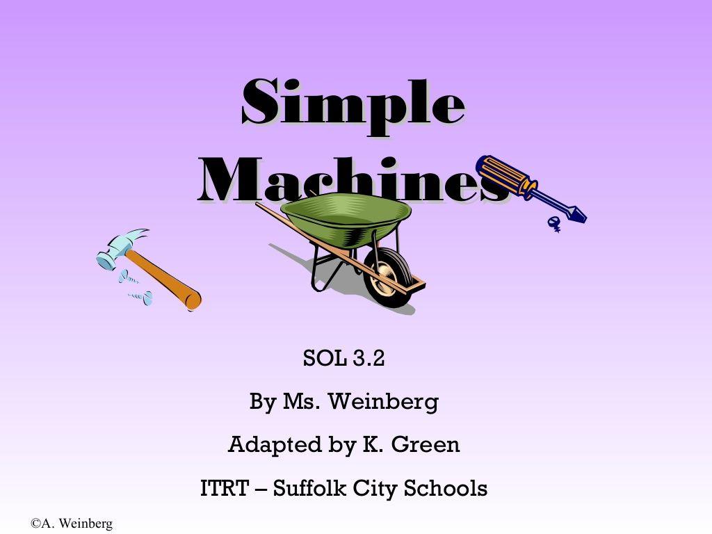 Simple M Ch Es By Je N C Rlo R Mírez Vi Slidesh Re Science