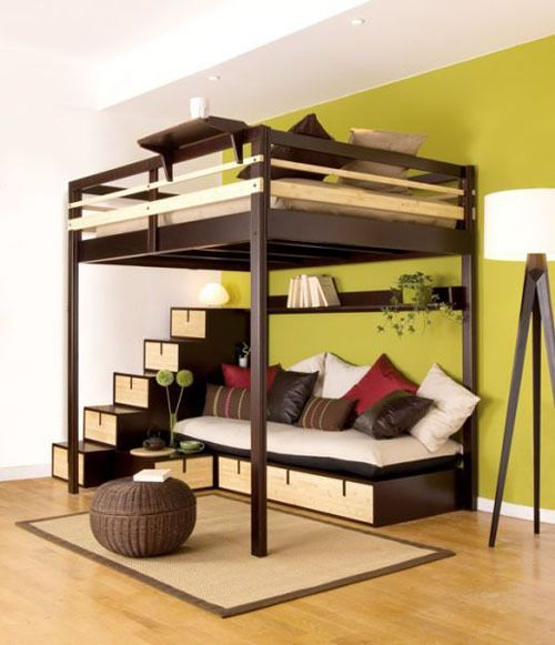 Full Size Loft Bed With Desk Pdf Download King Bed