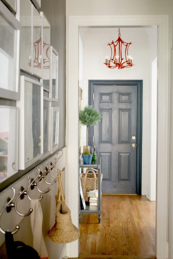 Decorating Our Small Back Entryway Small Entryways