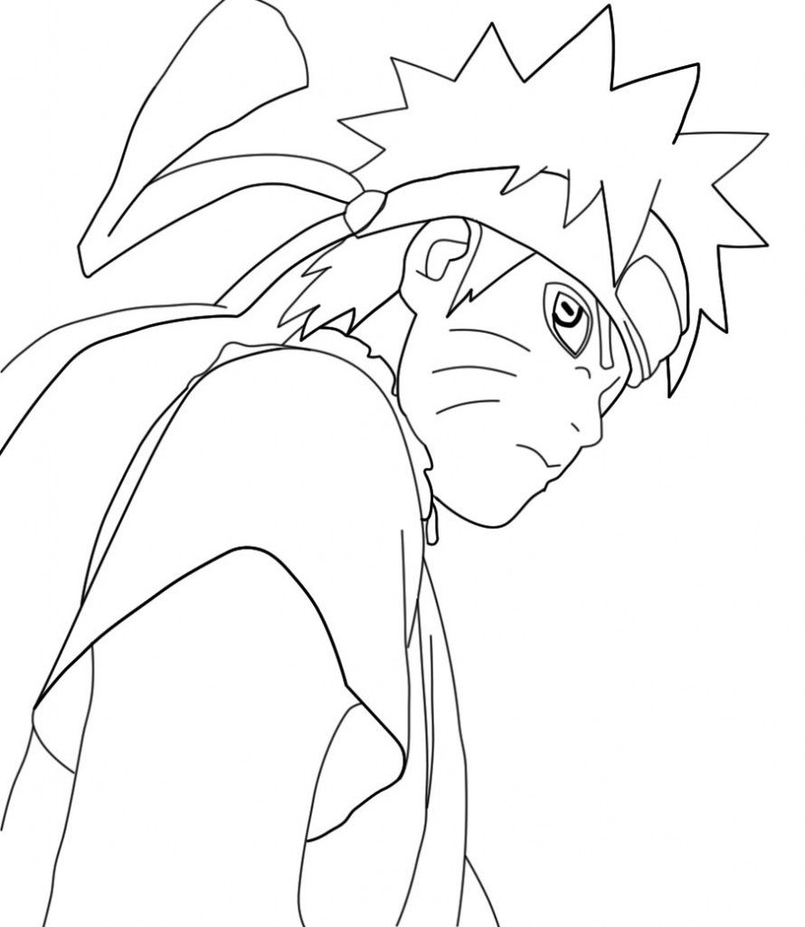 Naruto Coloring Pages For Kids Cartoon Coloring Pages
