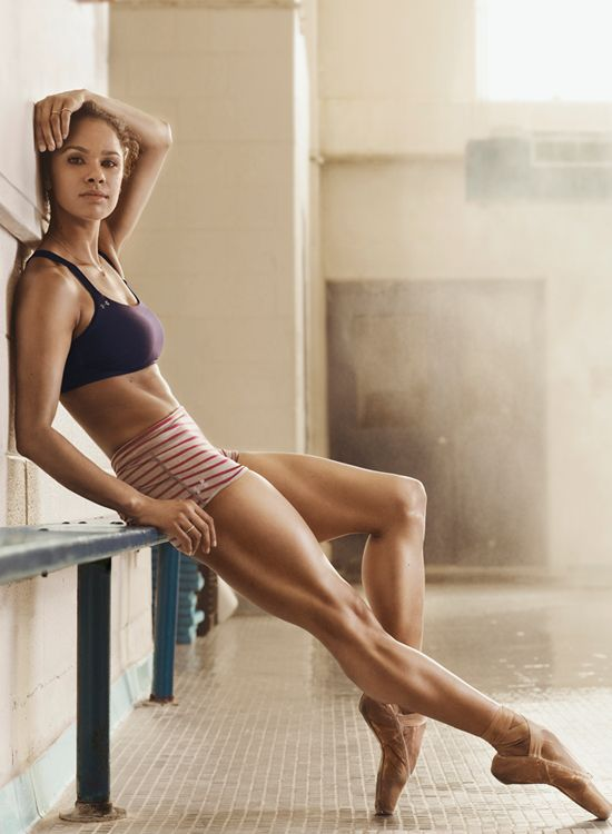 Ballerina Misty Copeland S Favorite Ab Sculpting Moves