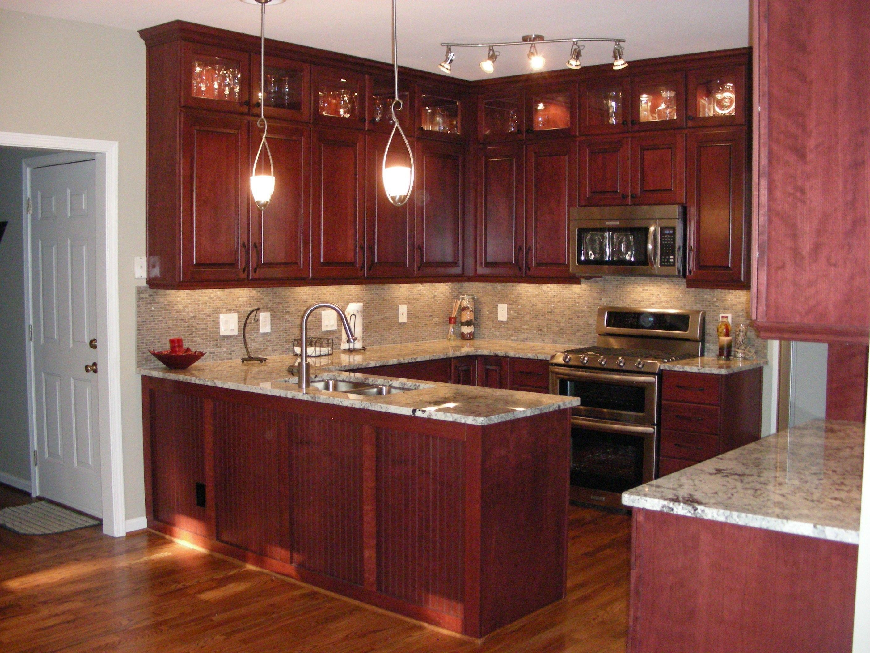 Best Kitchen Gallery: Modern Cherry Wood Kitchen Cabi S Cherry Kitchen Cabi S of Modern Cherry Kitchen Cabinets on rachelxblog.com