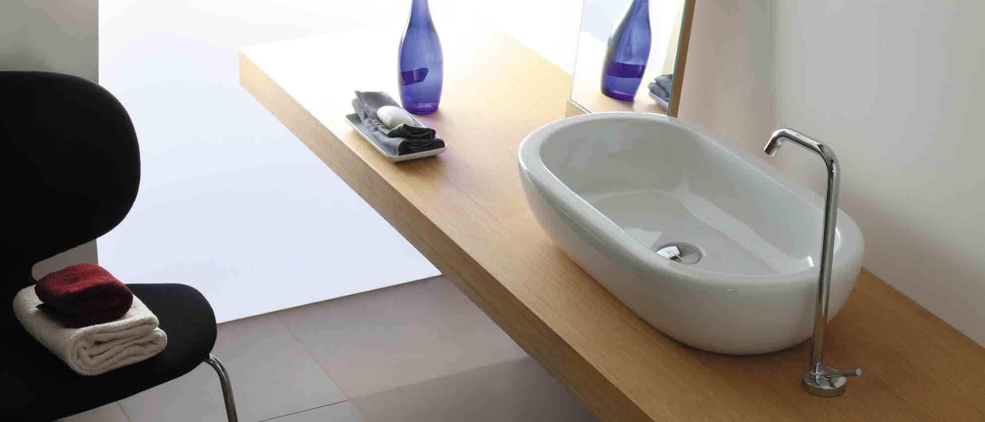 Italiaans Design Waskom Opbouw El Serie Galassia Luca