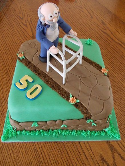 A 50th Birthday Cake Idea Featuring A Sneak Peek Of
