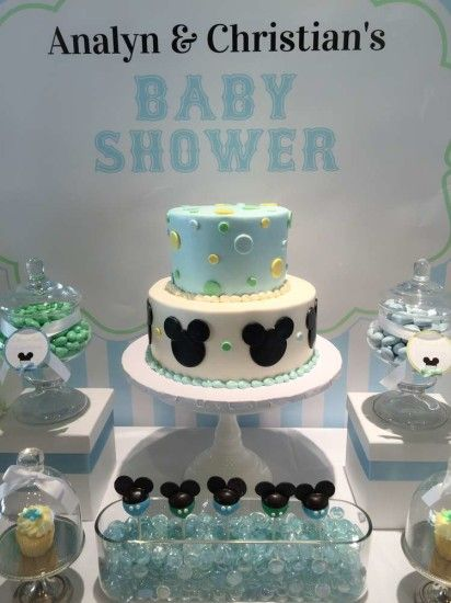 Baby Mickey Mouse Baby Shower Cake Baby Shower Ideas
