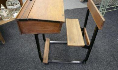 Antique Wooden School Desk Folding | Wooden Thing