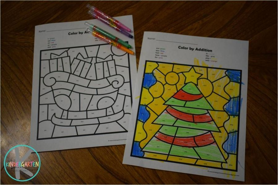 Christmas sight words   math   Pinterest   Kindergarten  Christmas     FREE Christmas Color by Kindergarten Sight Words is such a fun way for kids  to practice sight words while strengthening fine motor skills they will  need to