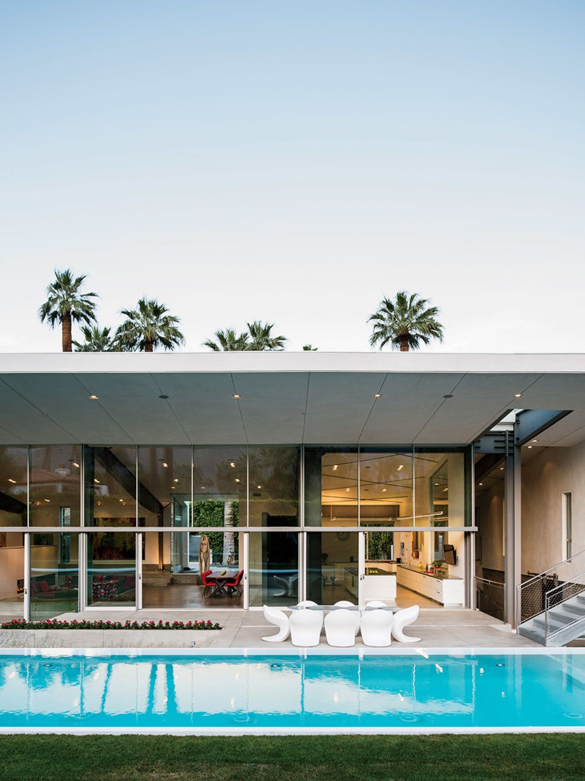 Best Kitchen Gallery: An Energy Efficient Hybrid Prefab Keeps Cool In The Palm Springs of Efficient Desert Home Designs on rachelxblog.com