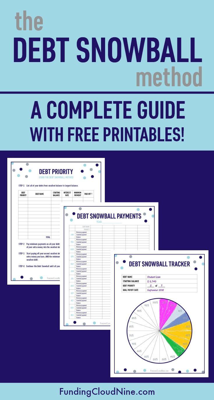 Debt Snowb Ll Method Plete Guide With Pr T Bles