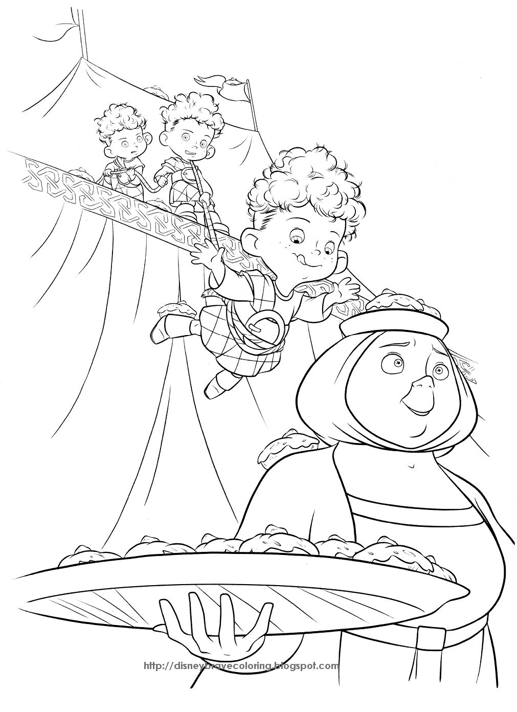 Princess Coloring Pages Brave Coloring Pages Of Merida Coloring