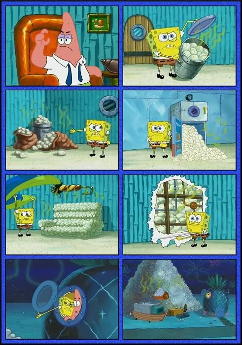 Quot He S Only This Big How Many Diapers Could He Possibly Use Quot Love This Episode Spongebob