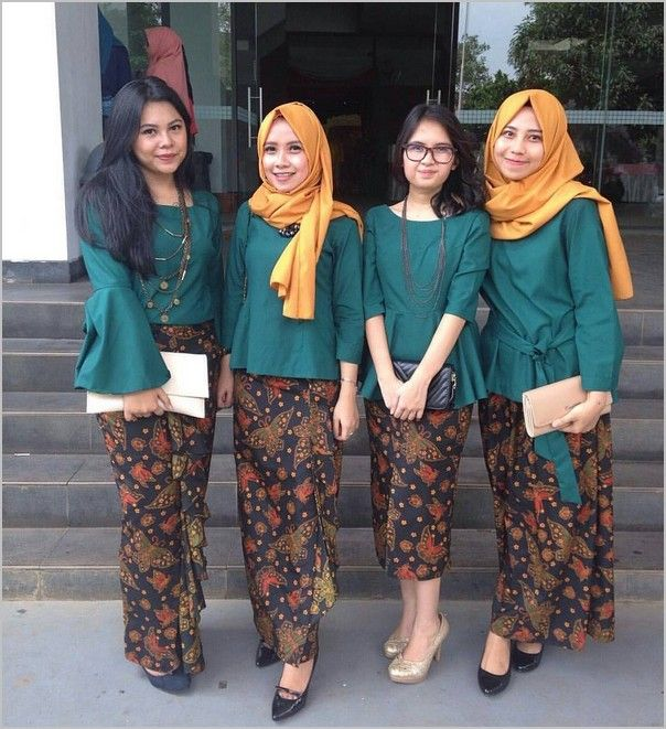 Image Result For Model Gamis Batik Remaja Modern