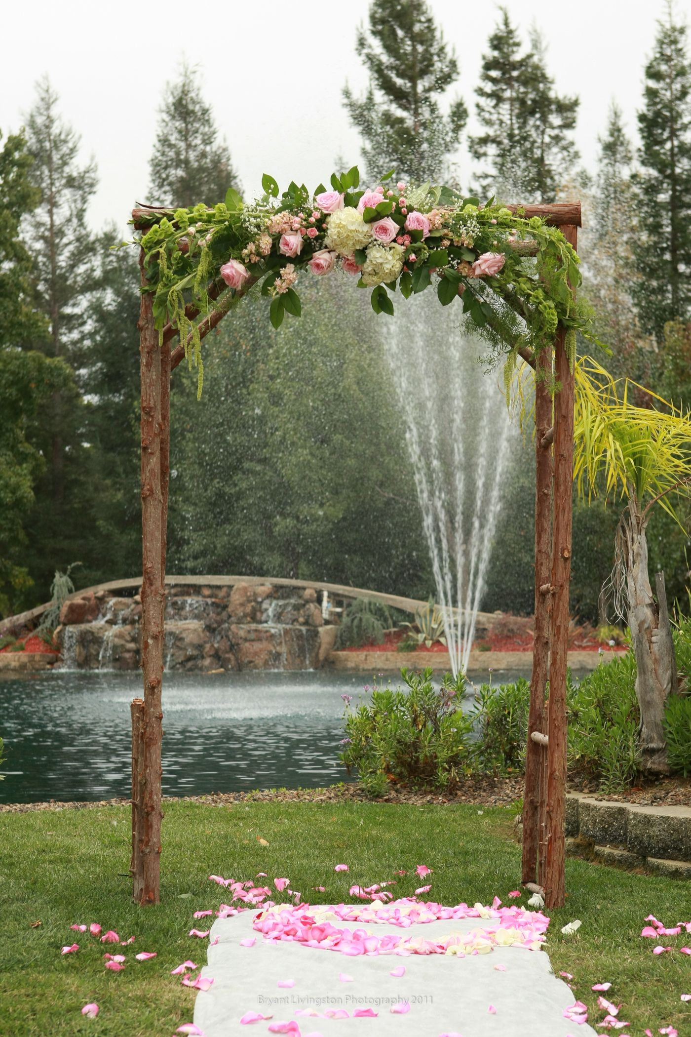 Rustic Simple Wedding Arch Vintage Backdrops Amp Photo