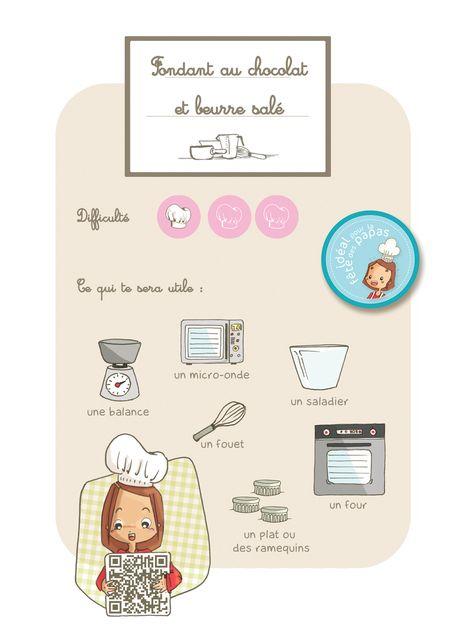 Fondant Chocolat Au Beurre Sal 233 Facile Pour Les Enfants